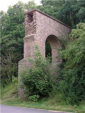 Reconstructed section near Mechernich-Vussem