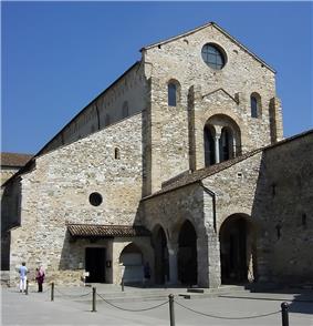 The Patriarchal Basilica of Aquileia.