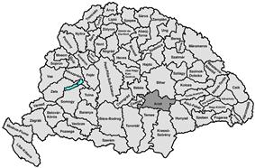 Location of Arad