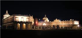 Palace of Aranjuez at night