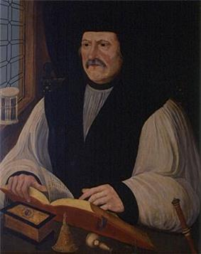 Portrait of Archbishop Matthew Parker