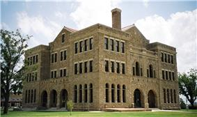 The Archer County courthouse