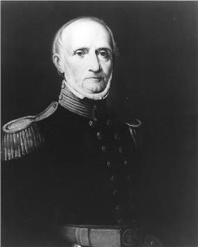 black & white portrait of Archibald Henderson