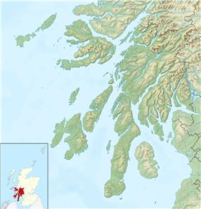 Mull is located in Argyll and Bute