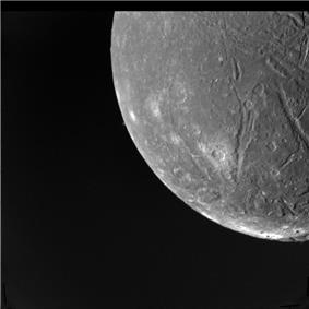 Ariel as imaged from 130,000 km
