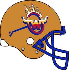 Arizona Wranglers helmet