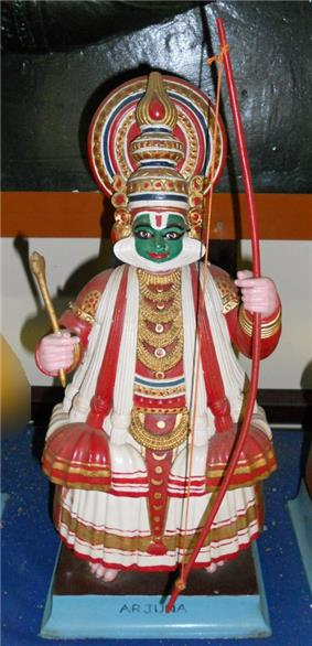 Arjuna kathakali doll.jpg