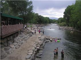 Arkansas River Walk, Downtown Salida