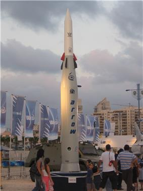 Arrow 2 on display at Rishon LeZion in September 2008