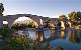 The historic Bridge of Arta.