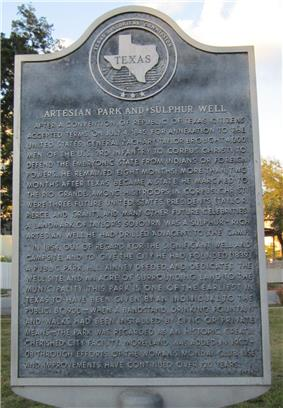 Artesian Park and Sulphur Well CC-TX.JPG