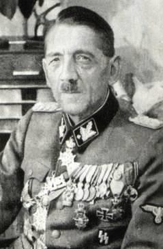 Artur Phleps wearing Waffen-SS dress uniform