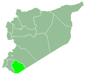 As-Suwayda Governorate within Syria