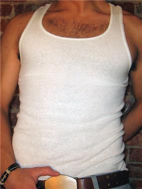 Sleeveless shirt (A-shirt)