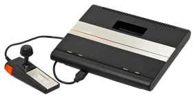 Atari 7800 System (American system with joystick controller)