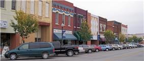 Commercial Street in downtown Atchison (2006)