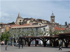 Aubagne city centre