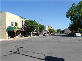Main Street in downtown Auburn, Indiana