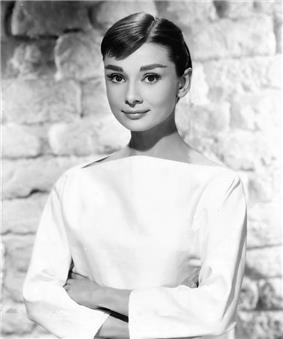 British actress Audrey Hepburn