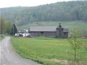 A farm in Columbia Township