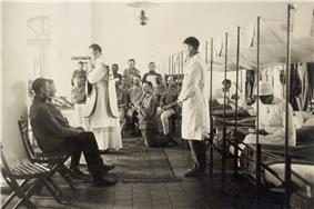 Mass in an Austrian military hospital, 1916