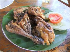 Ayam Taliwang in Lombok