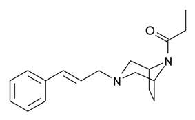 Chemical structure of Azaprocin.