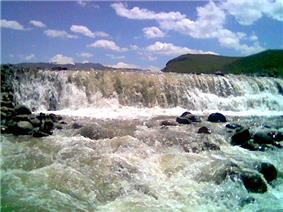 Azarshahr river