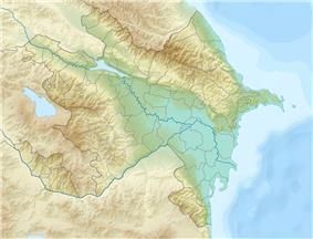 Aras Dam is located in Azerbaijan