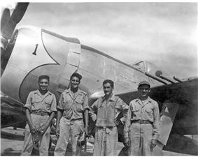 Pilot and P-47
