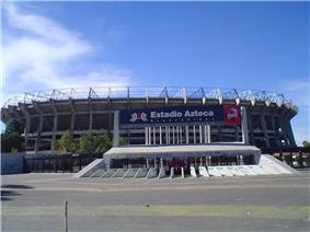 Outside part of the stadium