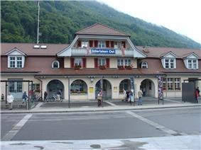 Interlaken Ost railway station
