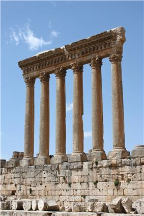 Temple of Jupiter in Baalbeck
