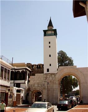 Eastern gate of damascus