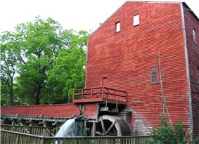 Backhouse Grist Mill NHS near Port Rowan, ON
