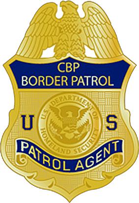 Badge of the United States Border Patrol, circa 2013.