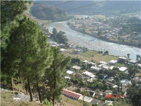 A bird's eyeview of Bageshwar