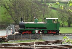 Bagnall 3024 of 1953 - aka Monarch from the Bowaters railway at Sittingbourne
