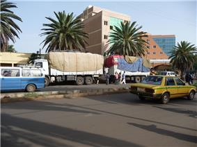 The Bahir Dar city center