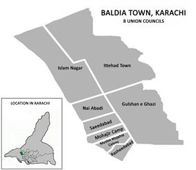 Union Councils of Baldia Town