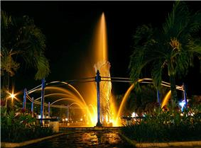 Fountain in Bekapai Park