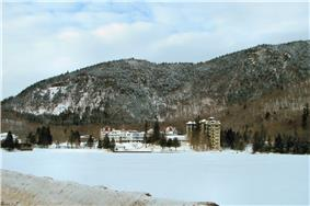 The Balsams, a resort hotel in Dixville Notch and the site of the famous