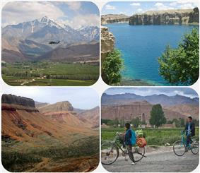 Various places in Bamyan province