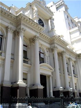 Headquarters of the Bank in Buenos Aires.