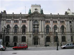 Bank of Portugal branch in Oporto