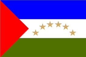 Flag of the Región Autónoma del Atlántico Sur