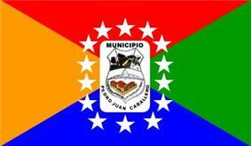 Flag of Pedro Juan Caballero