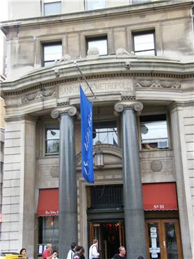 Bank of the Metropolis
