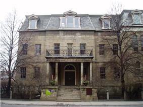 Exterior view of the Bank of Upper Canada Building