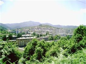 View from Nearby Hill